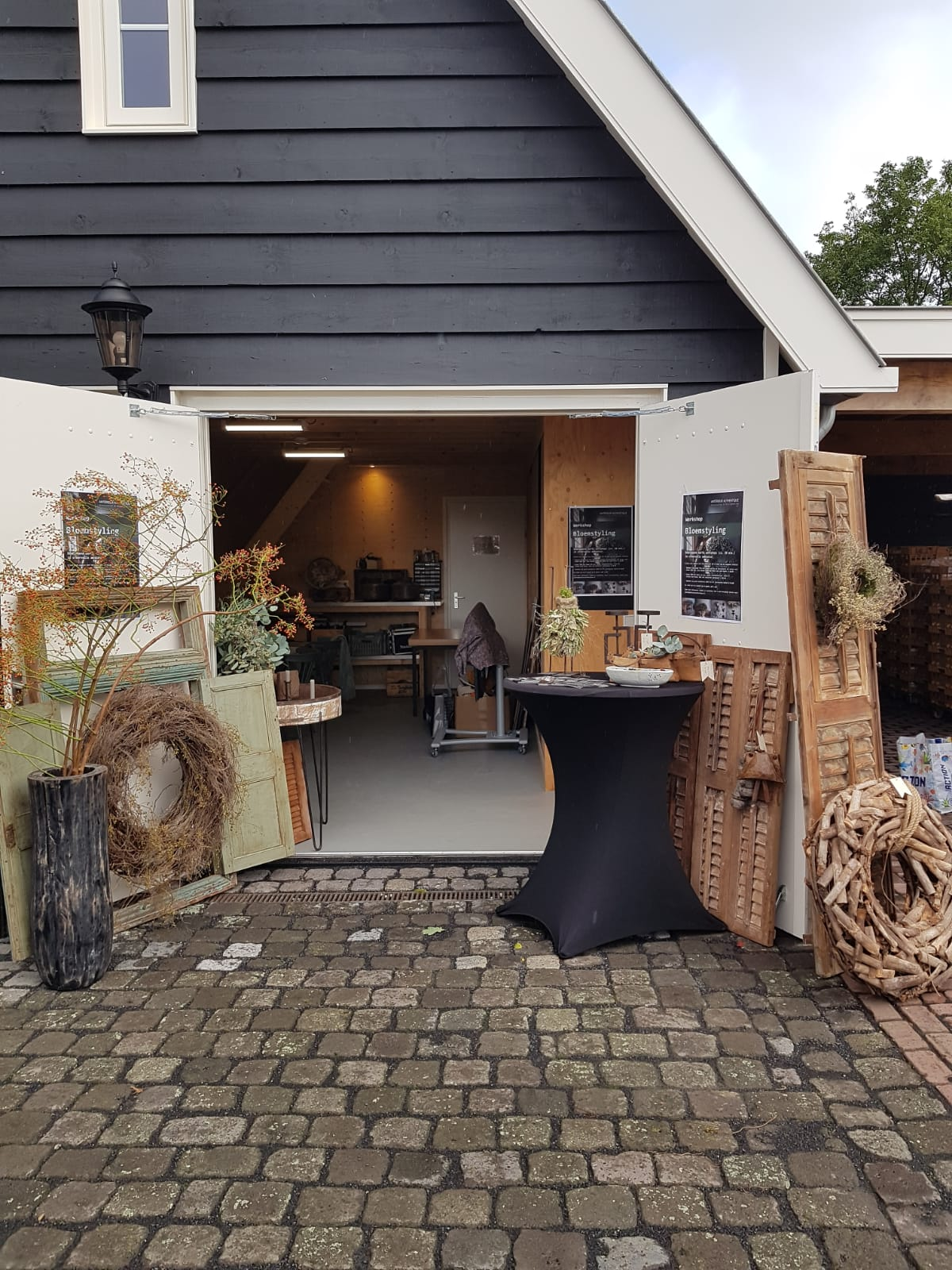 Herfstfair 2019 Kapelle met workshopruimte