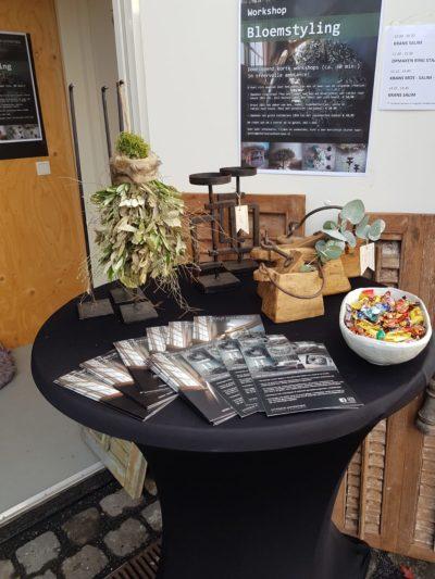 Foto van ingang Workshopruimte Herfstfair 2019