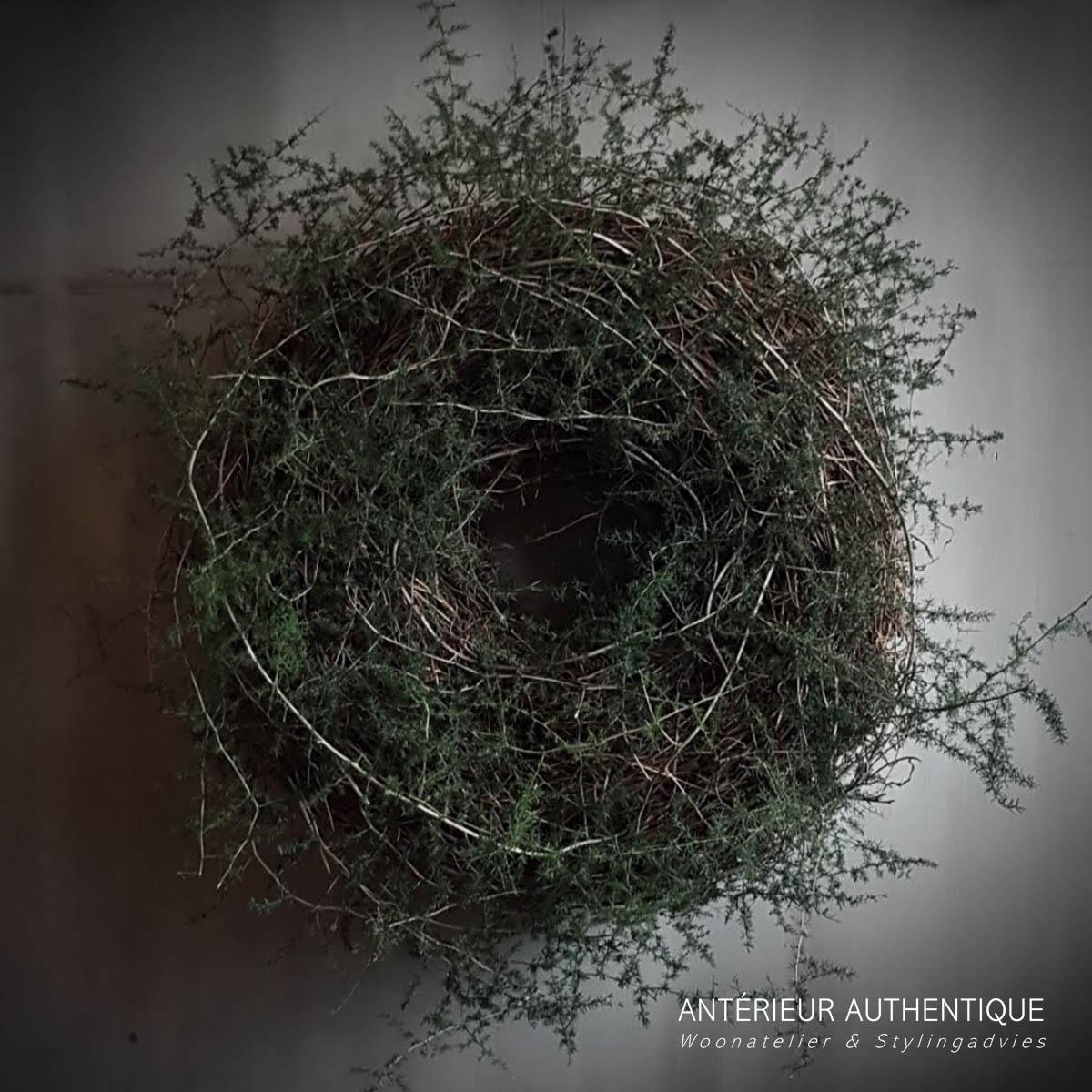 Afbeelding van krans wilde asparages voor gebruik als indexfoto in de Antérieur Authentique webshop